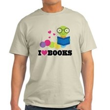 Bookworm I Heart Books T-Shirt