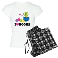 Bookworm I Heart Books Pajamas