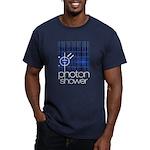 Solar Powered Men's Fitted T-Shirt (dark)