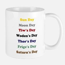 Days of the Week Mug