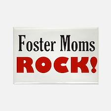 foster moms rock Magnets