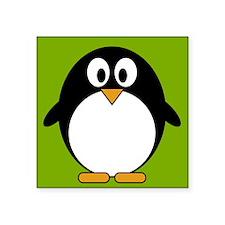 "cute penguin drawing Square Sticker 3"" x 3"""