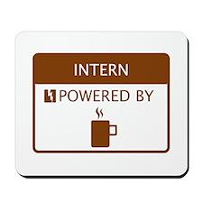 Intern Powered by Coffee Mousepad