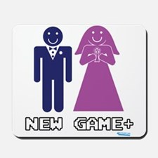 New Game + Marriage Mousepad