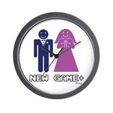 New Game + Marriage Wall Clock