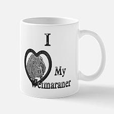 B@W Weimaraner 1 Mug