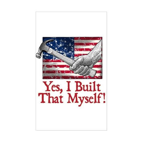 Build That! - Sticker (Rectangle)