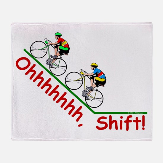 Ohhhhh, Shift! Throw Blanket