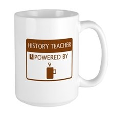 History Teacher Powered by Coffee Mug