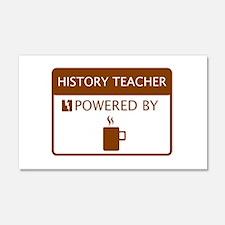 History Teacher Powered by Coffee Wall Sticker