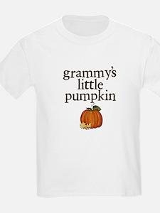 Grammy's Little Pumpkin Kids T-Shirt