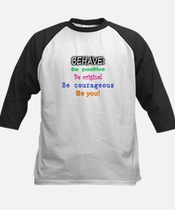 BEHAVE, Be You Kids Baseball Jersey