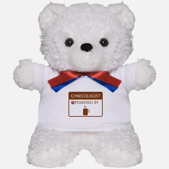 Gynecologist Powered by Coffee Teddy Bear