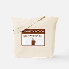 Gymnastics Coach Powered by Coffee Tote Bag