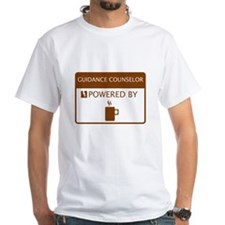 Guidance Counselor Powered by Coffee Shirt