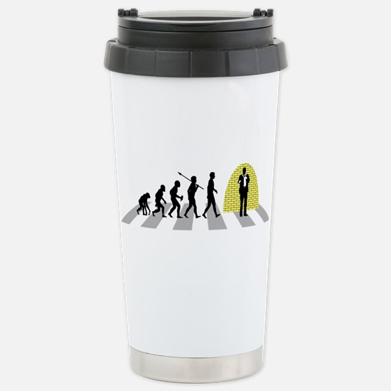 Stand-Up Comedian Stainless Steel Travel Mug