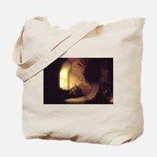 Rembrandt Philosopher in Meditation Tote Bag