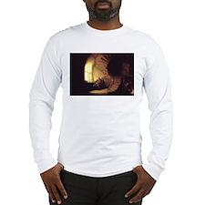 Rembrandt Philosopher in Meditation Long Sleeve T-