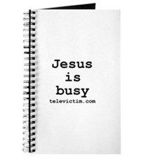 """""""Jesus is busy"""" Journal"""