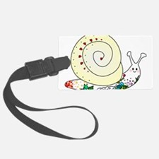 Colorful Cute Snail Luggage Tag