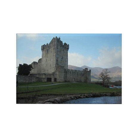 Ross Castle Rectangle Magnet