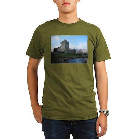 Ross Castle Organic Men's T-Shirt (dark)