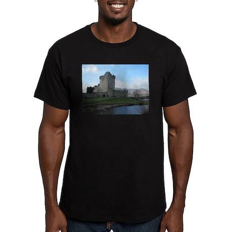 Ross Castle Men's Fitted T-Shirt (dark)