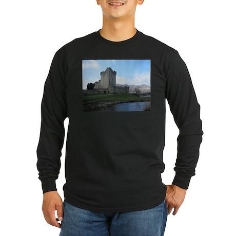Ross Castle Long Sleeve Dark T-Shirt