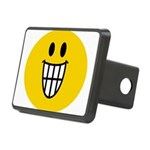 Grinning Smiley Rectangular Hitch Cover