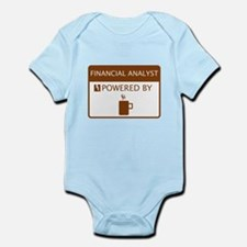 Financial Analyst Powered by Coffee Infant Bodysui