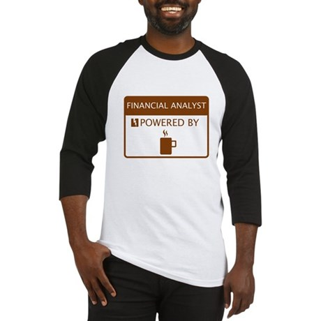 Financial Analyst Powered by Coffee Baseball Jerse
