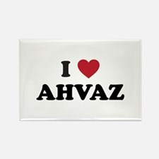 I Love Ahvaz Rectangle Magnet