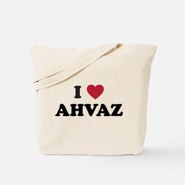 I Love Ahvaz Tote Bag