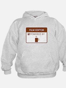 Film Editor Powered by Coffee Hoodie