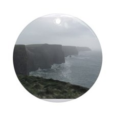 Cliffs of Moher Ornament (Round)