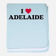 I Love Adelaide baby blanket