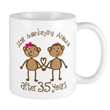 35th Anniversary Love Monkeys Mug