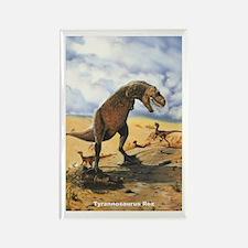 Tyrannosaurus Rex T-Rex Dinosaur Rectangle Magnet