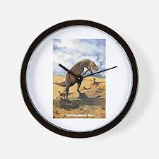 Tyrannosaurus Rex T-Rex Dinosaur Wall Clock