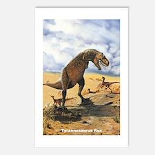Tyrannosaurus Rex T-Rex Dinosaur Postcards (Packag