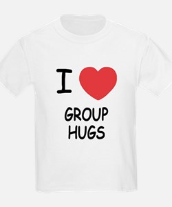 I heart group hugs T-Shirt
