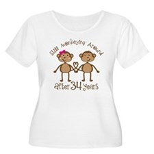 34th Anniversary Love Monkeys T-Shirt