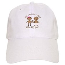 43rd Anniversary Love Monkeys Baseball Cap