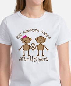 45th Anniversary Love Monkeys Women's T-Shirt