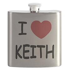I heart KEITH Flask