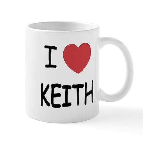 I heart KEITH Mug