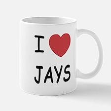 I heart jays Mug
