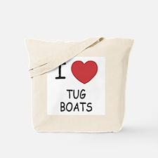 I heart tug boats Tote Bag