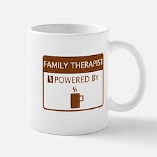 Family Therapist Powered by Coffee Mug
