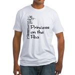 Princess on Pea Fitted T-Shirt